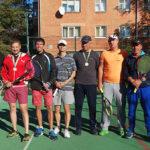 В Александрии 7 октября 2018 года прошел парный турнир по теннису