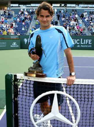 Федерер в 2005 году