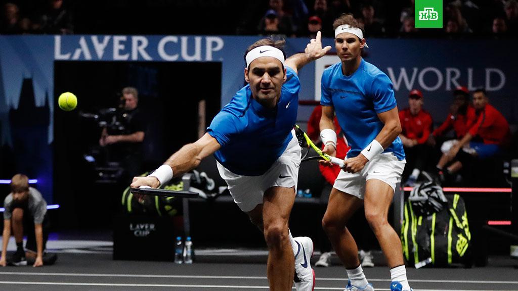 Надаль и Федерер - почетные теннисисты Александрии