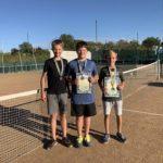 В Кропивницком прошел очередной детский турнир по теннису